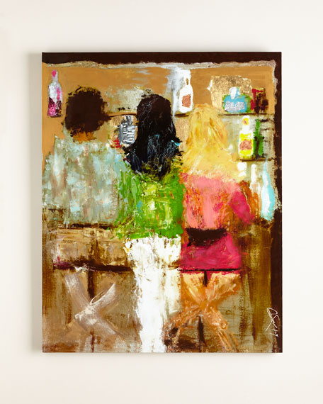 """At The Bar"" Giclee"