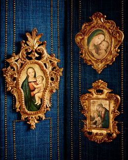 Three Madonna & Child Paintings