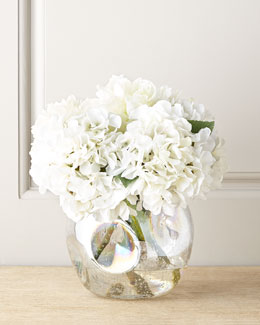 Whiter Shade of Pale Faux-Peony Arrangement