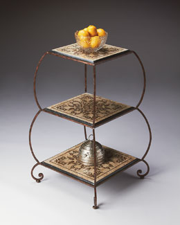 Etched Etagere
