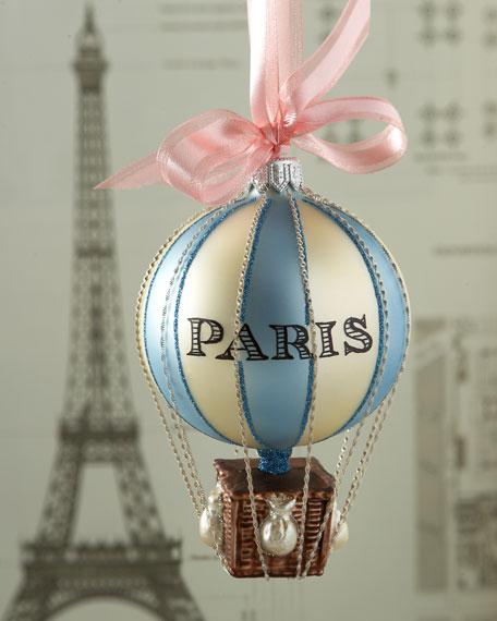 - Cortina Paris Hot Air Balloon Christmas Ornament