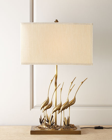 Gathering of Cranes Lamp