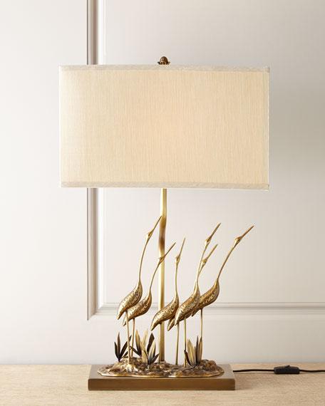 Gathering of Cranes Lamp