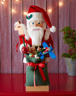 Ulbricht Nutcracker Santa with Toys