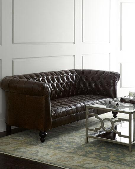 Moline Leather Sofa