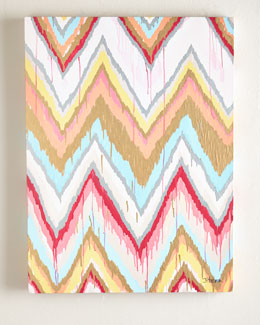"Jennifer Moreman ""Global Chevron"" Giclee"
