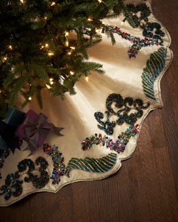 Kim Seybert Masquerade Tree Skirt