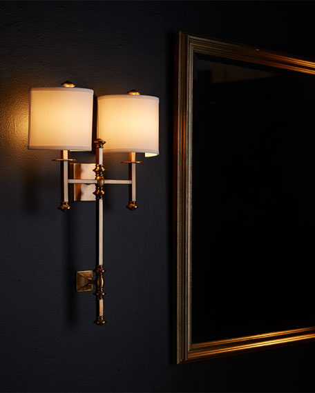 Devon Two-Light Sconce