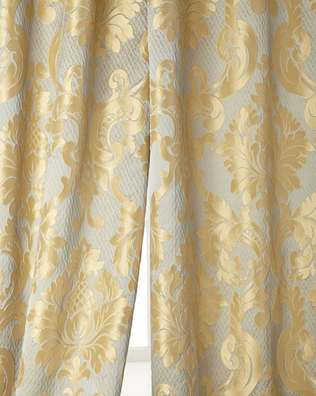 "Two 52""W x 96""L Contessa Curtains"