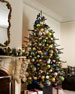 Six Milk Ball Christmas Ornaments