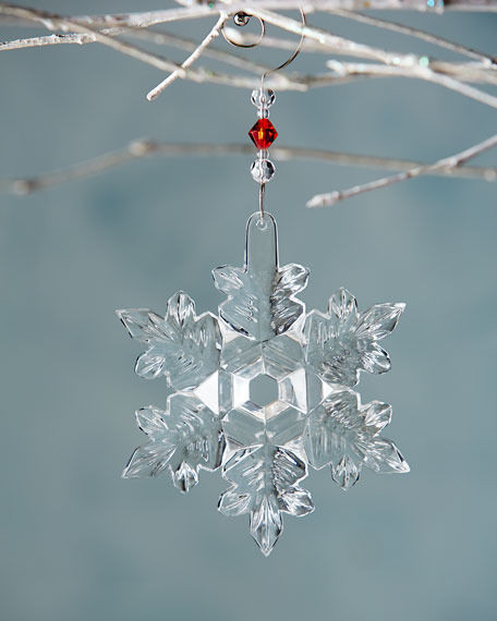 2014 Snow Crystal Christmas Ornament