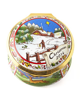 Halcyon Days Enamels 2014 Christmas Box