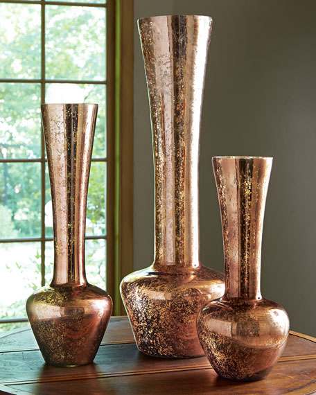 Three Autumn Harvest Vases