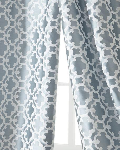 "Each 55""W x 108""L Palisade Tile Curtain"