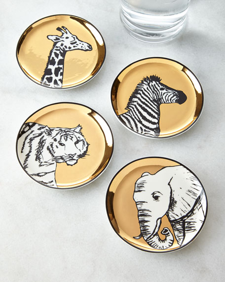 Animalia Coaster Set
