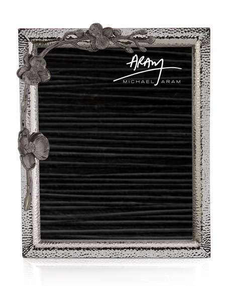Black Orchid Picture Frame, 8