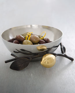 Lemonwood Nut Bowl
