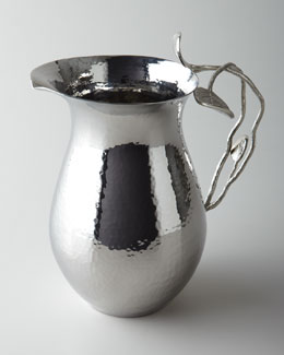 Botanical Leaf Water Pitcher