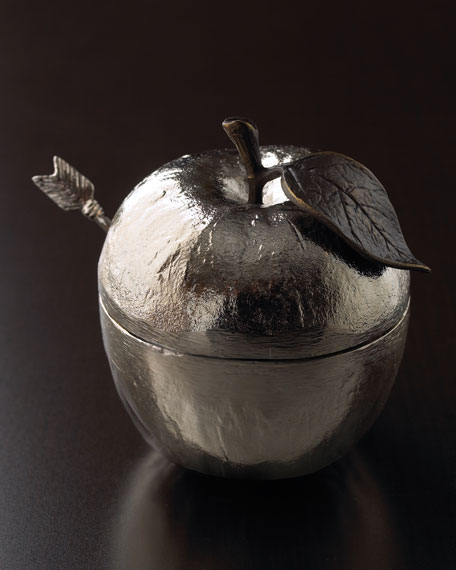 Honey Pot with Spoon
