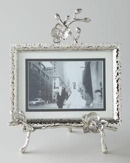 White Orchid Easel Frame