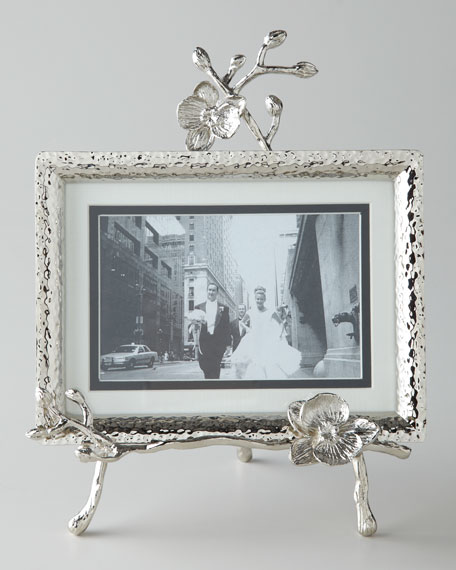 michael aram white orchid easel frame - Michael Aram Picture Frames