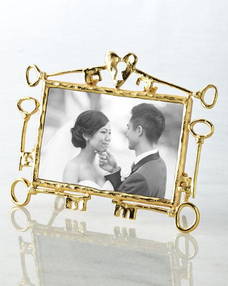 michael aram key to my heart 4 x 6 frame - Michael Aram Picture Frames
