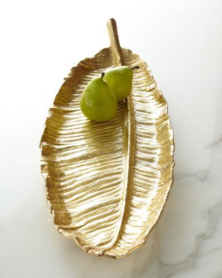 Large Banana Leaf Platter