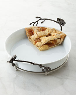 Black Orchid Pie Plate