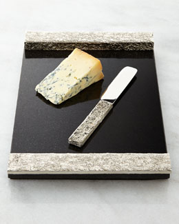 Block Cheese Board with Knife