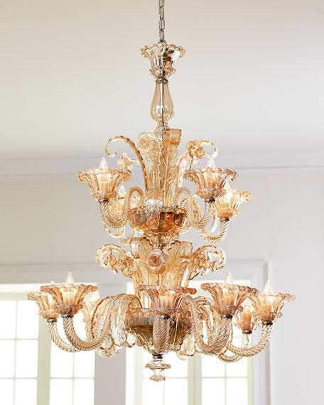 La scala 12 light chandelier aloadofball Images