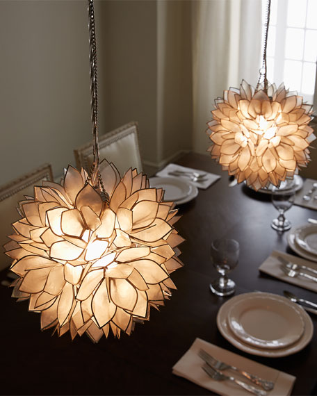 Flower Burst 1-Light Mini Pendant