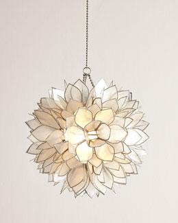 NM EXCLUSIVE Flower Burst Mini Pendant Light