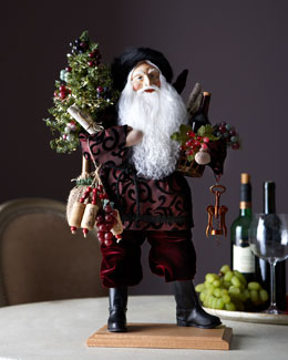 Lynn Haney Christmas in the Vineyard Santa