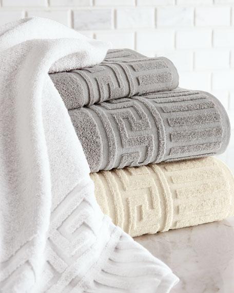 Greek Key Hand Towel