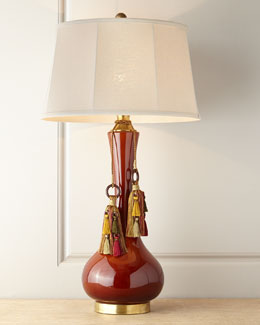 John-Richard Collection Bordeaux Ceramic Lamp
