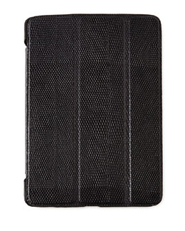 Lizard-Embossed Leather iPad Mini Case