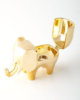 Jonathan Adler Brass Elephant Box