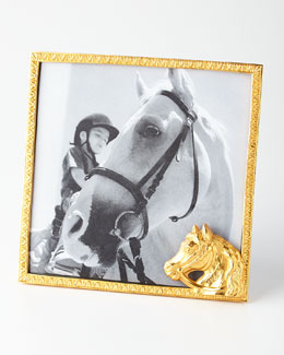 BANCHI Golden Horse Head Frame