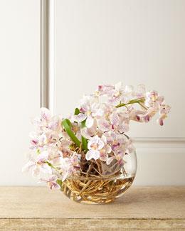 Vanda Orchid Faux Floral
