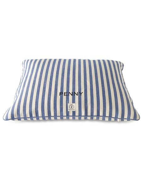Medium Personalized Vintage-Inspired Dog Bed