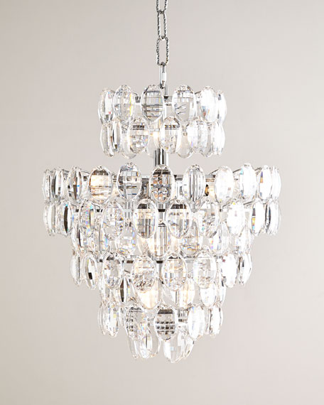 Exuberance 14 light crystal chandelier