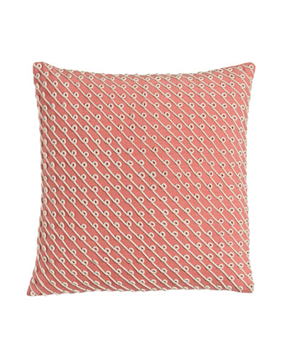 Pillow with Rope Applique, 20