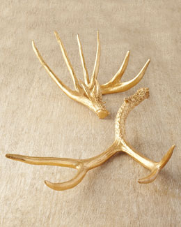 Two Golden Antlers
