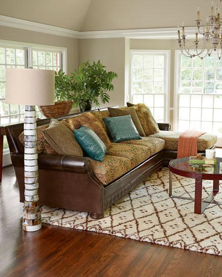 autumn jade sectional sofa