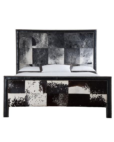 Omaha King Hairhide Bed