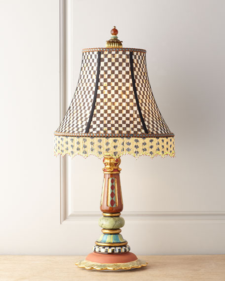 Mackenzie childs highland table lamp mozeypictures Gallery