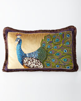 Peacock Pillow, 26