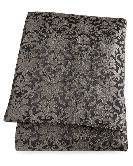Queen Hamilton Damask Duvet Cover