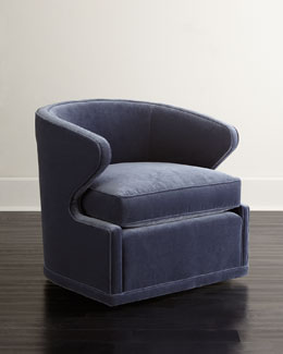 SOUTHERN FURNITURE-UPHOLESTRY Dyna St. Clair Swivel Chair