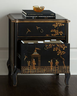 Chinoiserie File Box